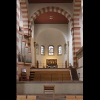 Hildesheim, St. Michaelis, Westchor mit Orgel