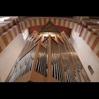 Hildesheim, St. Michaelis, Orgel perspektivisch