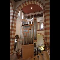 Hildesheim, St. Michaelis, Orgel, Ansicht vom Westchor