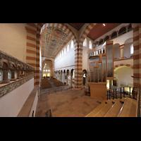 Hildesheim, St. Michaelis, Vierung mit Orgel im Westchor
