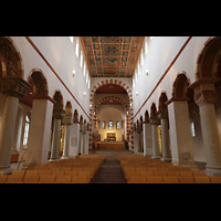 Hildesheim, St. Michaelis, Innenraum in Richtung Westchor