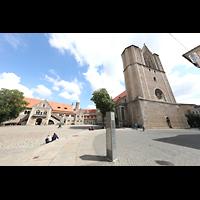 Braunschweig, Dom St. Blasii (Hauptorgel), Domplatz und Burgplatz mit Dom und Burg Dankwarderode