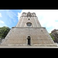 Braunschweig, Dom St. Blasii (Hauptorgel), Fassade mit Türmen und Glockenhaus