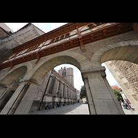 Braunschweig, Dom St. Blasii (Hauptorgel), Übergang vom Dom zur Burg Dankwarderode