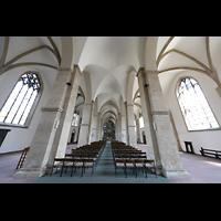 Braunschweig, St. Andreas, Innenraum in Richtung Orgel
