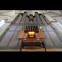 Braunschweig, St. Andreas, Orgel mit Spieltisch