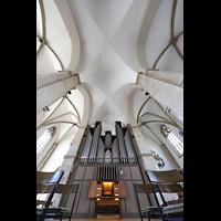 Braunschweig, St. Andreas, Orgel mit Gewölbe