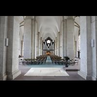 Braunschweig, St. Andreas, Hauptschiff in Richtung orgel