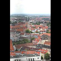 Braunschweig, St. Andreas, Aussicht vom Turm auf St. Martini