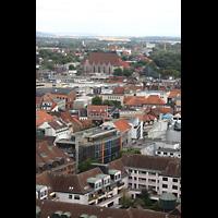 Braunschweig, St. Andreas, Aussicht vom Turm auf St. Ägidien