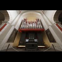 Goslar, Marktkirche St. Cosmas und Damian, Orgel mit Spieltisch