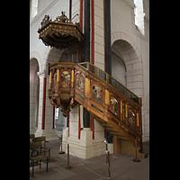 Goslar, Marktkirche St. Cosmas und Damian, Kanzel