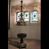Goslar, Marktkirche St. Cosmas und Damian, Taufbecken