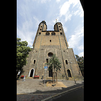 Goslar, Marktkirche St. Cosmas und Damian, Doppelturmfassade