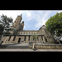 Goslar, Marktkirche St. Cosmas und Damian, Außenansicht seitlich vom Marktkirchhof aus
