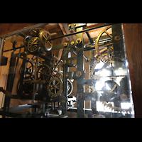 Goslar, Marktkirche St. Cosmas und Damian, Mechanisches Uhrwerk im Nordturm