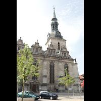 Wolfenbüttel, Hauptkirche Beatae Mariae Virgine, Südansicht von der Reichsstraße aus