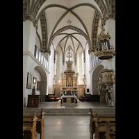 Wolfenbüttel, Hauptkirche Beatae Mariae Virgine, Chorraum mit Kanzel