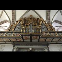 Wolfenbüttel, Hauptkirche Beatae Mariae Virgine, Orgelempore