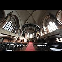 Berlin (Wedding), Stephanuskirche, Innenraum in Richtung Chor
