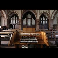 Berlin (Wedding), Stephanuskirche, Orgel mit Spieltisch