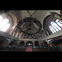 Berlin (Wedding), Stephanuskirche, Innenraum in Richtung orgel