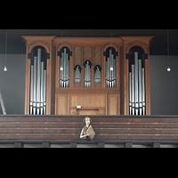 Berlin - Schöneberg, Friedhofskirche St. Fidelis, Orgel