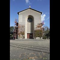 Berlin - Schöneberg, Friedhofskirche St. Fidelis, Fassade