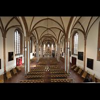Berlin (Spandau), St. Nikolai, Blick vom Spieltisch in die Kirche