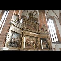 Berlin (Spandau), St. Nikolai, Hochaltar seitlich
