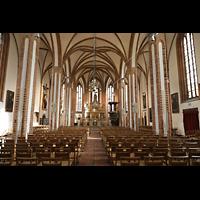 Berlin (Spandau), St. Nikolai, Innenraum in Richtung Chor