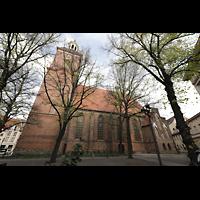 Berlin (Spandau), St. Nikolai, Außenansicht von Süden