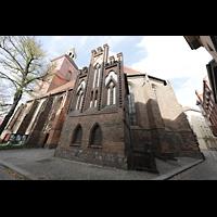 Berlin (Spandau), St. Nikolai, Außenansicht von Südosten