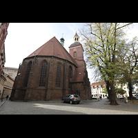 Berlin (Spandau), St. Nikolai, Chor von außen