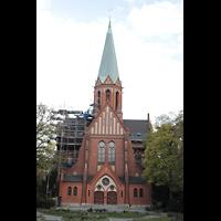 Berlin (Wilmersdorf), St. Ludwig, Westfassade