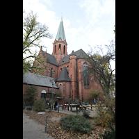 Berlin (Wilmersdorf), St. Ludwig, Ansicht von Südwesten