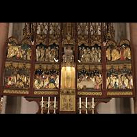 Berlin (Prenzlauer Berg), Ss.Corpus Christi Kirche, Nuegotischer Hochaltar, Detail