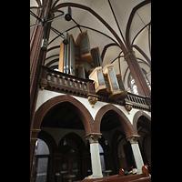Berlin (Tiergarten), St. Paulus Dominikanerkloster, Orgelempore seitlich
