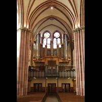 Berlin (Wilmersdorf), St. Ludwig, Westwand mit Orgel