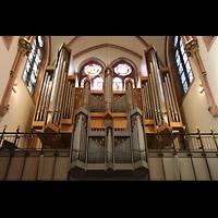 Berlin (Wilmersdorf), St. Ludwig, Orgel beleuchtet