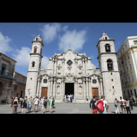 La Habana (Havanna), Catedral de San Cristóbal, Fassade