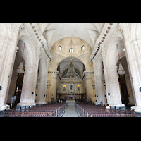 La Habana (Havanna), Catedral de San Cristóbal, Innenraum in Richtung Chor
