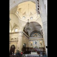 La Habana (Havanna), Catedral de San Cristóbal, Vierung und Chorraum