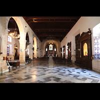 La Habana (Havanna), Iglesia del Espíritu Santo, Innenraum in Richtung Chor