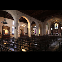 La Habana (Havanna), Iglesia del Espíritu Santo, Innenraum und Altäre im linken Seitenschiff