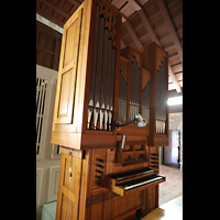 La Habana (Havanna), Iglesia del Espíritu Santo, Orgel mit Spieltisch