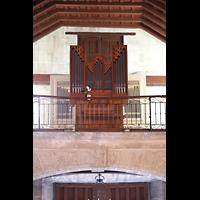 La Habana (Havanna), Iglesia del Espíritu Santo, Orgelempore