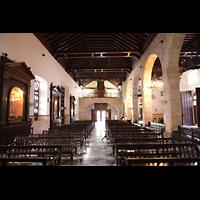 La Habana (Havanna), Iglesia del Espíritu Santo, Innenraum in Richtung Orgel