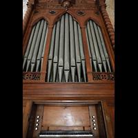 La Habana (Havanna), Auditorio San Francisco de Paula, Orgel mit Spieltisch