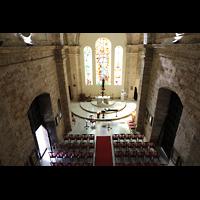 La Habana (Havanna), Auditorio San Francisco de Paula, Blick von der Orgelempore in die Kirche